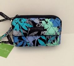 NWT-Vera-Bradley-All-In-One-Crossbody-for-iPhone-6-Plus-Wristlet-in-Camofloral