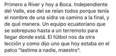 Boca - Independiente del Valle, Libertadores 16