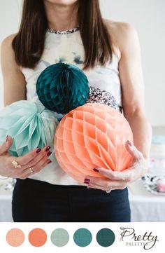 Pretty Palettes :: Playful Wedding Colors