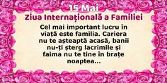 15 Mai - Ziua Internațională a Familiei - Cel mai important lucru în viață este familia. Mai, Birthday Cake, Education, Birthday Cakes, Teaching, Onderwijs, Cake Birthday, Birthday Sheet Cakes, Learning
