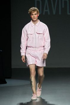 David Catalán unveiled his Spring/Summer 2016 collection at EGO during Mercedes-Benz Fashion Week Madrid.