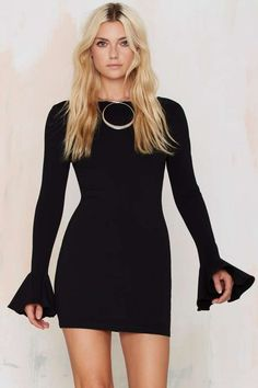 Nasty Gal Kiss 'n Bell Knit Dress
