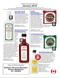 JR Watkins - America's original apothecary manufacturer featuring a diverse line of personal care, home care, remedies, herbs, spices & flavorings. Jr Watkins, Baked Cinnamon Apples, January 2018, Remedies, Herbs, Herb, Spice