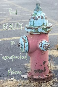 Day 2: Look Find Beauty in unexpected places. #rethinkchurch #look
