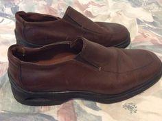 Cole Haan Men loafers leather brown Size 7.5 M #ColeHaan #LoafersSlipOns