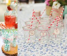 Utiliza los tarros para diseñar divertidas bebidas para todos tus invitados - Fotos Katelyn James, Dan Cutona y Elodie Ciriani