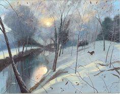 Winter Morning - Nicholas Hely Hutchinson (b. 1955)