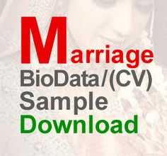 Image result for sample biodata format in word free download hiiii marriage bride matrimonial cv biodata resume sample download yelopaper Choice Image