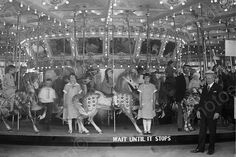 Glen Echo Carousel Wait Until It Stops 4x6 Reprint Of Old Photo