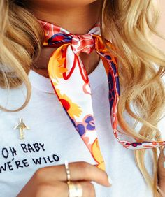 """She's Confident Scarf"" - It's All Wild by Eva Gutowski SHOP NOW itsallwild.com"
