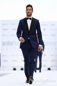 Daniel Ricciardo, Red Bull Racing at the Amber Lounge Fashion Show