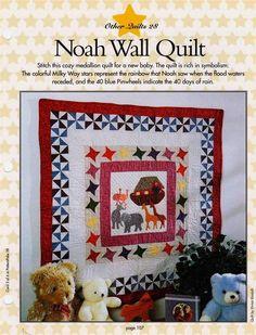 Noah Wall Quilt +  Noah Album Cover +  Noah Block Quilt Patterns