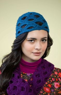 Openwork Crochet Hat