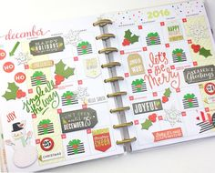 T.G.I.F. planner babes! We're nine days deep into December, and if you  still happen to have a blank December monthly spread (life, we know...no  worries), we're sharing two fun ways for how you can get them filled up  this weekend.  The first idea was created by mambi Design Team member Nicole Patterson ( IG | blog) who created a countdown to Christmas on her BIG undated Happy  Planner™'s monthly pages. Then, mambi Design Team member Nita Patterson ( @neatlyplanned) went all-out 'merry' on…