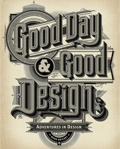 "49 Likes, 1 Comments - Adventures In Design Podcast (@aidpodcast) on Instagram: ""Back in stock! Our beautiful Good Day & Good Design poster by our partners…"""