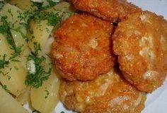 Báječné kuřecí placičky se sýrem - Recepty.cz - On-line kuchařka Kfc, Detox, Treats, Chicken, Cooking, Ethnic Recipes, Food, Populárne Piny, Food Ideas