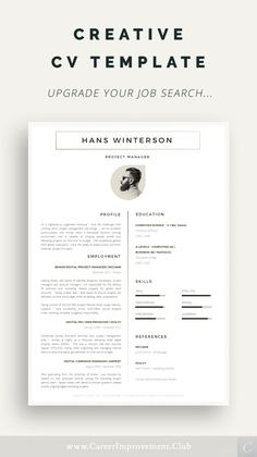 Student Resume Template, Modern Resume Template, Resume Templates, Cv Design, Resume Design, Resume Tips, Free Resume, Creative Cv Template, It Cv