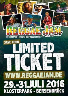 Reggae Jam Festival 2016  #GermanReggaefestival #musicfestival #Reggaefestival #ReggaeJam #ReggaeJamFestival2016 #summerfestival