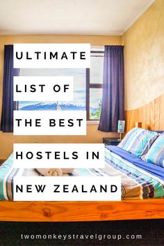 List of The Best Hostels in New Zealand : Updated for 2019 Ultimate List of The Best Hostels in New Zealand Visit New Zealand, New Zealand Travel, Travel And Leisure, Travel Tips, Travel Info, All Things New, Good Things, Kia Ora, The Places Youll Go