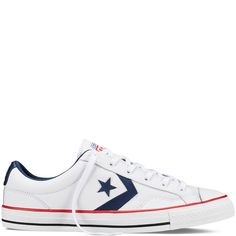 CONS Star Player Leather white