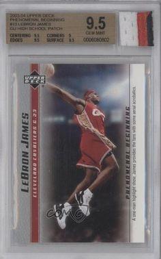 LeBron James/A one man highlight BGS GRADED 9.5 Cleveland Cavaliers (Basketball Card) 2003-04 Upper Deck Phenomenal Beginning LeBron James #13 by Upper Deck Phenomenal Beginning LeBron James. $49.99. 2003-04 Upper Deck Phenomenal Beginning LeBron James #13 - LeBron James/A one man highlight BGS GRADED 9.5
