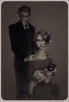 By Lenka Simeckova #bleaq #illustration #dark