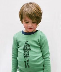 Anïve For The Minors - Tee Scout Forest Green - Babyshop.no