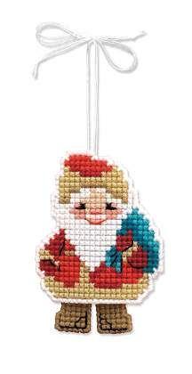 1538АС Новогодняя игрушка Дедушка Мороз - Подробная информация о товаре