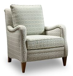 Lucille comes standard with a deluxe seat cushion, welt and -7B nailhead trim. Please note:  Nailhead trim cannot be removed.