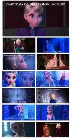 I am Elsa some days. But this is the reason Elsa is my favorite Disney character, because she's relatable. Disney Pixar, Disney Memes, Disney And Dreamworks, Disney Animation, Disney Frozen, Disney Facts, Frozen Sad, Punk Disney, Frozen Stuff