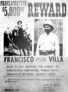 Pancho Villa's Division of the North conducted a raid on the small US border town of Columbus, New Mexico in March 1916. The raid escalated into a full scale battle between Villistas and the United States Army. Villa himself led the assault, only to be driven back into Mexico. The attack angered Americans and President Woodrow Wilson ordered the Pancho Villa Expedition in which the US Army invaded Mexico in an unsuccessful attempt to capture General Villa.