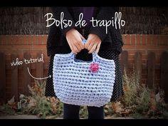 Cómo hacer un bolso de trapillo | How to make a zpagetti crochet handbag