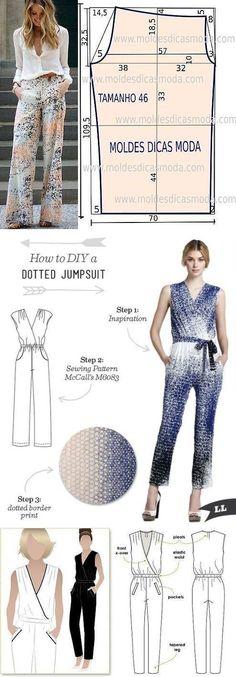 DIY Womens Clothing : sewing pattern free Deniz