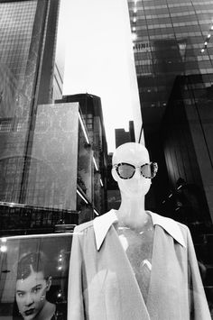 """This week's magazine-- the Style Issue-- includes a spread of images from Lee Friedlander's recent series called """"Mannequin."""" Click-through for a slideshow of his photographs from New York City: http://nyr.kr/Q391Sk"""