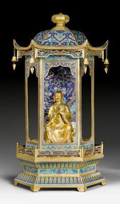 Cloisonné - Qianlong period