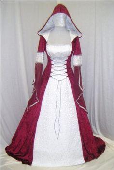 medieval wedding dress renaissance dress by camelotcostumes