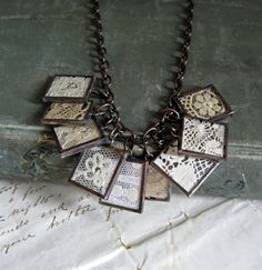 just need some vintage lace . . .  from etsy seller ThatOldBlueHouse2