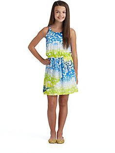 DKNY - Girls Island Lace Dress