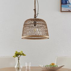 Lindby Arratoi lampa wisząca z rattanu, naturalna Ceiling Lights, Lighting, Pendant, Home Decor, Living Room, Decoration Home, Room Decor, Hang Tags, Lights