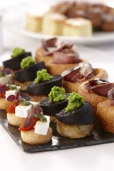 Canapes, featured on hitched.co.uk