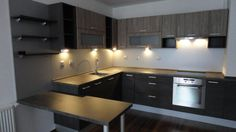 Lková kuchynská linka Conference Room, Wall Lights, Table, Furniture, Home Decor, Appliques, Decoration Home, Room Decor, Tables