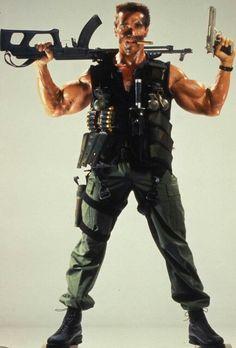 Comando para matar Patrick Schwarzenegger, Arnold Schwarzenegger Movies, Arnold Schwarzenegger Bodybuilding, Action Movie Poster, Action Movies, Arnold Movies, Bodybuilding Pictures, Tough Guy, Sylvester Stallone