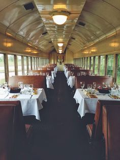 Dinner & Brunch Trains on the Texas State Railroad - Palestine, Texas