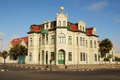 Swakopmund Namibia - Our guide the adventure capital of Southern Africa includes things to do, where to stay, food recommendations and more. Namibia Travel, Africa Travel, Art Nouveau, Parks, Revival Architecture, Germany Castles, Fairytale Castle, Countries To Visit, Beautiful Dream