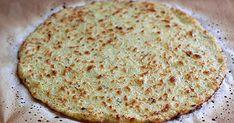 Cauliflower Pizza Crust With Cauliflower, Ground Almonds, Dried Oregano, Himalayan Salt, Pepper, Chia Seeds, Water