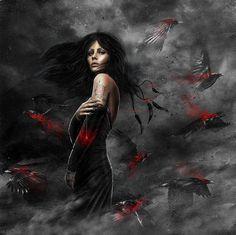 The Morrigan - Celtic Goddess of Death