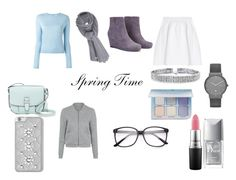 """Spring Days"" by joseybrat ❤ liked on Polyvore featuring malo, Care By Me, MICHAEL Michael Kors, T By Alexander Wang, Bling Jewelry, Skagen, Christian Dior, Anastasia Beverly Hills, MAC Cosmetics and George"