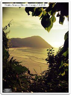 Prainha branca/Ilha do guaraju /sp em abril de 2014