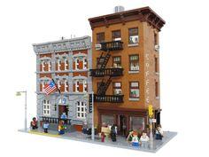 LEGO Harbor Moc | 756 best images about Lego modulars on Pinterest