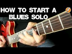 Blues Guitar Soloing - 7 Great Licks For Starting Your Solo - YouTube